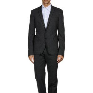 Dirk Bikkembergs Jersey Slim Fitted Suit, 38R